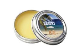 Organic Beeswax Lip Balm Round in Metal Tin