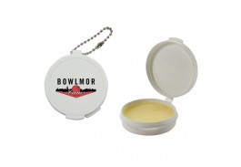 All Natural Beeswax Lip Balm with Keychain