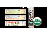 USDA Organic Lip Balm - 11 Flavors