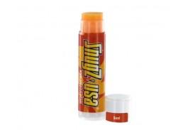 Orange Natural Beeswax Lip Balm - Orange Tint in Clear Tube