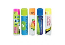SPF 15 Beeswax Lip Balm with Neon Cap - 5 Flavors