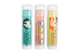 Organic Colored Lip Balm in Clear Tube
