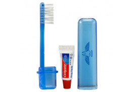 Travel Toothbrush and Colgate® Toothpaste