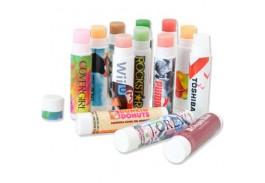 SPF 15 ColorStik Lip Balm - Full Color Imprint - 14 Flavors