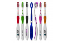 Rubber Grip Toothbrush