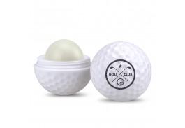 Non SPF Golf Ball Shaped Natural Beeswax Lip Balm