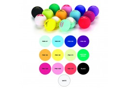 Natural USA Made Beeswax Lip Balm Ball in 13 Flavor/Color Combinations