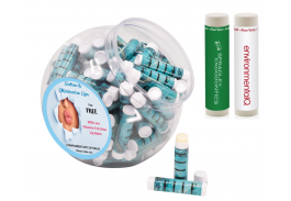SPF 15 Lip Balm with FREE Display Tub - One Color Imprint